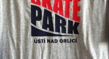 Skateparkový trička k objednání