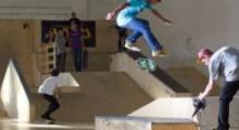 Skatepark má za sebou druhý závod a první koncert