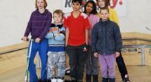 Dětský domov z Dolní Čermné zavítal do haly v ÚnO!