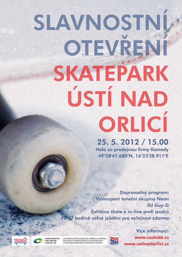 Plakát - slavnostní otevření